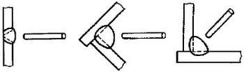 横向姿勢の参考図