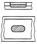 スロット溶接の参考図